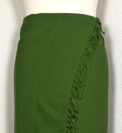 Sarong mosgroen XL