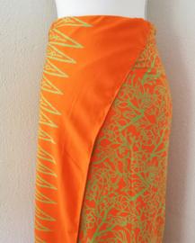 Exclusieve Balinese ceremonie sarong. 170 X 110 cm Wasbaar op 30 graden. Met sarongknoop.