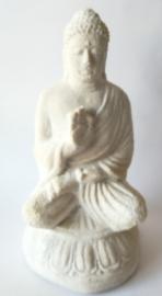 Geruststellende  Balinese Boeddha. Semuanya akan baik-baik saja.