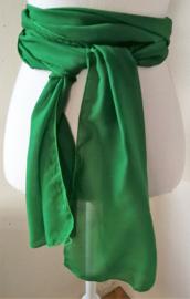 Kebaya sjerp (selendang) groen 2.40x28 cm.