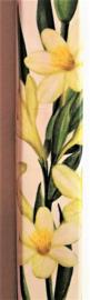 Helende aromatherpie. Vanille wierook sticks. Niet walmend door unieke bewerking. Ondergedompeld in pure bloemenolie. Brandtijd 45 minuten per stick.  Inhoud 10 sticks