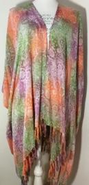 Sarong vest mandala Art tuju. 100% rayon, met sarong knoop