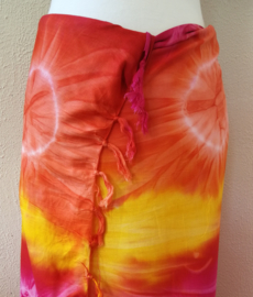 Sarong tie dye 'Nol'.