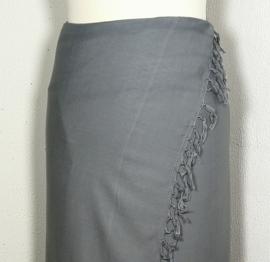 Sarong grijs XL.
