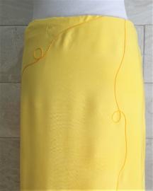 Sarong geel XL.