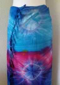 Sarong tie dye 'Delapan'.