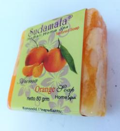 Sudamala Orange Home spa zeepje 50 gram.