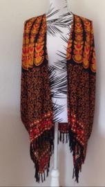 Sarong vest van 100% Rayon, met sarong knoop