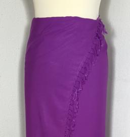 Sarong paars XL