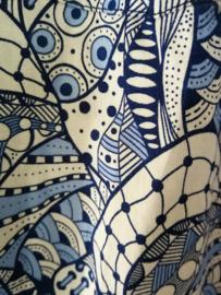 Blouse/overhemd. Balinese L  wijdte 100 cm Mouwlengte 62 cm. Zacht katoen.