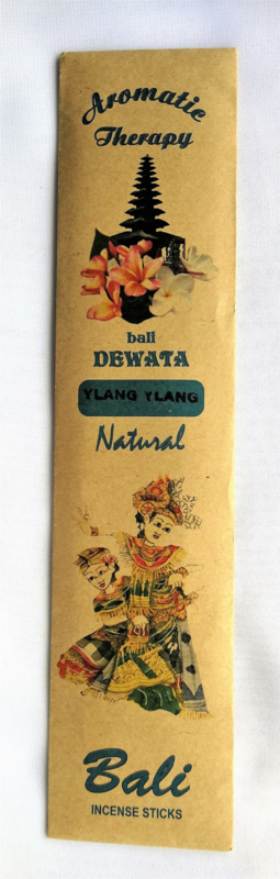 Verrukkelijke Balinese tempel wierook.  Bali Dewata Ylang Ylang incense sticks. 12 stuks.