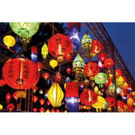 AluArt - Asian Lanterns 80x120