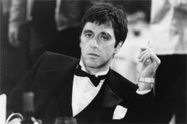 AluArt Kunstwerk - Al Pacino sigaret
