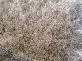 Luxe velours fluweel vloerkleed - Luxury Sand/Grey (N13)