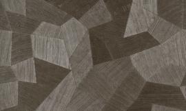 Exclusief 3D-behang - antraciet taupe ATF306