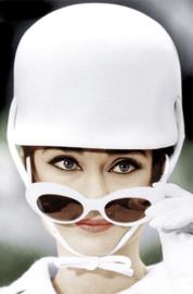 AluArt Kunstwerk - Audrey Hepburn cap (colour)