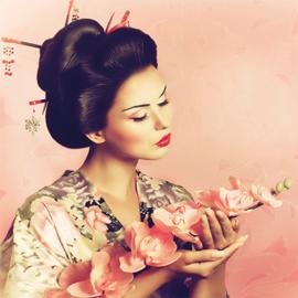 AluArt - Geisha 120x120