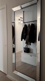 Luxe Spiegel met spiegelrand / passpiegel (180x80)