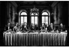 AluArt - Gangsters Last Supper XL 200x300
