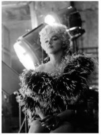 Spiegellijst met Marilyn Monroe 'Spotlight'