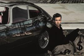 AluArt Kunstwerk - James Dean The Rebel