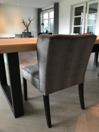 Luxe eetkamerstoel velours fluweel (Tess)