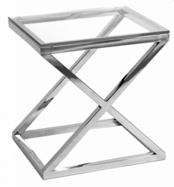 EICHHOLTZ Bijzettafel Side Table Criss Cross (laag)