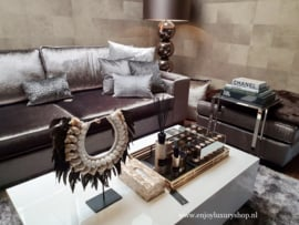 EICHHOLTZ Dienblad Giacomo - brons/goud LARGE