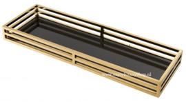 EICHHOLTZ Dienblad ERSA - brons/goud SMALL