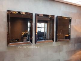 COMBI SET: 3x Spiegellijst (60x80) brons