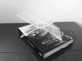 Luxury Boekenstandaard transparant