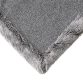 Luxe Plaid Alaska Bontplaid EICHHOLTZ - Grey