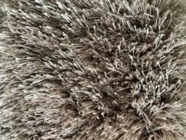 Luxe vloerkleed hoogpolig - Grey/Taupe  (EL15)