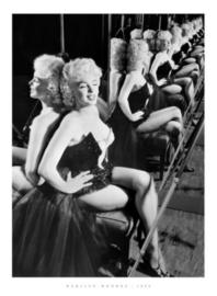 Spiegellijst Marilyn Monroe 1955 (70x90)