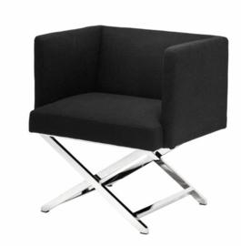 EICHHOLTZ Chair Dawson Fauteuil - Panama black