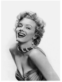 Spiegellijst met Marilyn Monroe Portret (2)