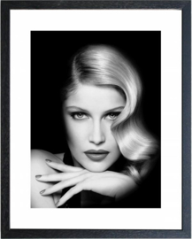 Fotolijst zwart wit foto Model1 (M 40,5x50,5)