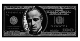 AluArt - Dollar Godfather GLAM009 Zilver (90x200)