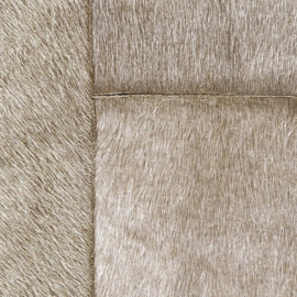 Exclusief vacht behang - taupe, brons APL806
