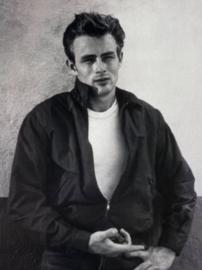 Spiegellijst poster James Dean - Movie Star (70x90)
