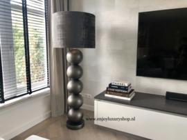 Stout Vloerlamp Milano (5) bollen Black Pearl mat