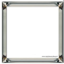 Spiegel fotolijst wissellijst (50x50cm)