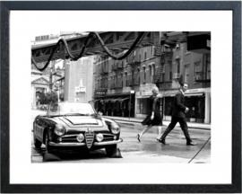 Fotolijst zwart-wit foto 'City'