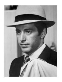 Spiegellijst met Al Pacino | The Godfather