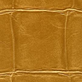 Exclusief Croco behang - goud geel BC308