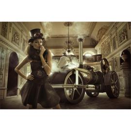 AluArt Kunstwerk - Steam Glamour