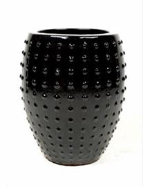 Luxe vaas zwart - (S 55x44)