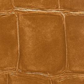 Exclusief Croco behang - bruin BC326
