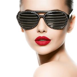 AluArt Kunstwerk - Bling Sunglasses