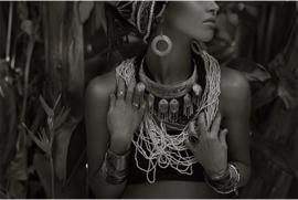 AluArt Kunstwerk - Young Caucasian woman